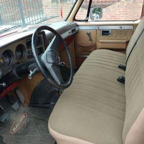 Chevrolet silverado 89 con gnc