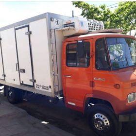 Vendo camión 608 con caja térmica y equipo de frío