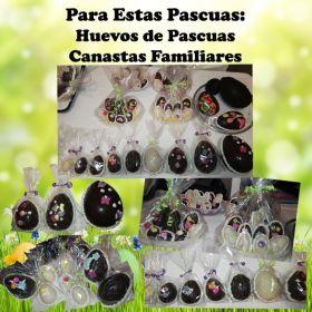 Para estas PASCUAS: Canastas Familiares y Huevos de pascuas. HACE TU ENCARGUE