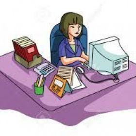 Se ofrece secretaria, administración