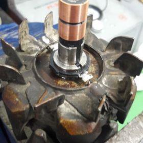 Reparación de motores de arranque y alternadores