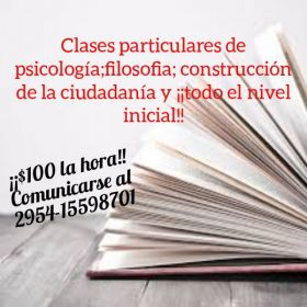 Clases particulares 👩‍🏫