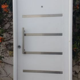 Puerta inyectado impecable