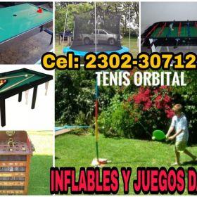 ALQUILER DE JUEGOS Y INFLABLES DANY!! CEL: 2302-307121 O VIA FACEBOOK