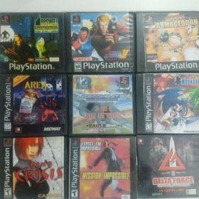 Playstation one (1) slim