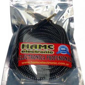 Cable Guitarra Electrica Electroacustica Bajo X 3 Mts