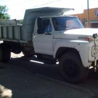 Fletes con Camion Volcador.