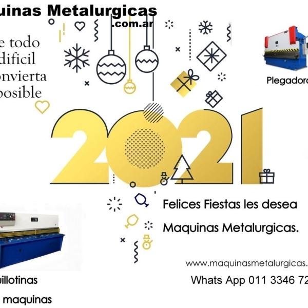 Maquinas Metalurgicas les desea felices fiestas
