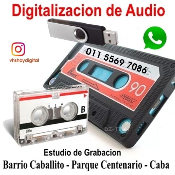 AUDIO CASSETTE mejorado a Pendrive Apto Smart TV
