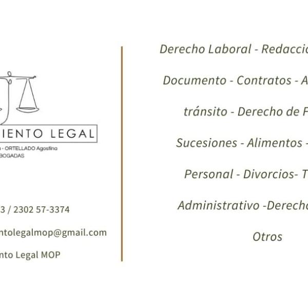 Asesoramiento Legal - MIRANDA Cintia y ORTELLADO Agostina