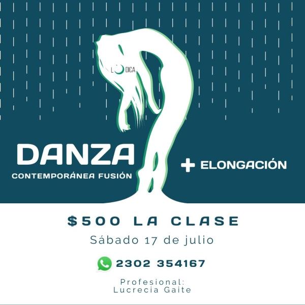 Clases de Elongación y Danza Contemporánea
