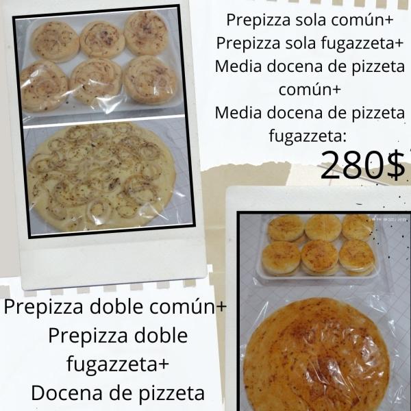 Venta de pre pizzas y pizzetas!!