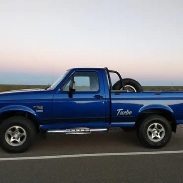 Ford f100 xlt mwm diésel turbo impecable