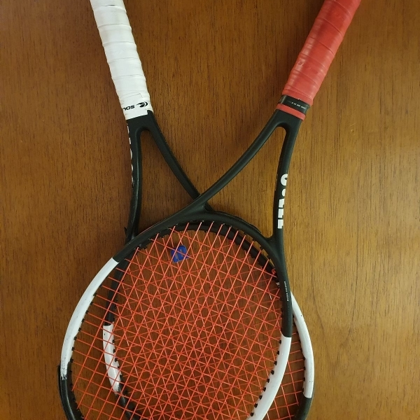Raquetas Wilson pro staff 97L reparadas