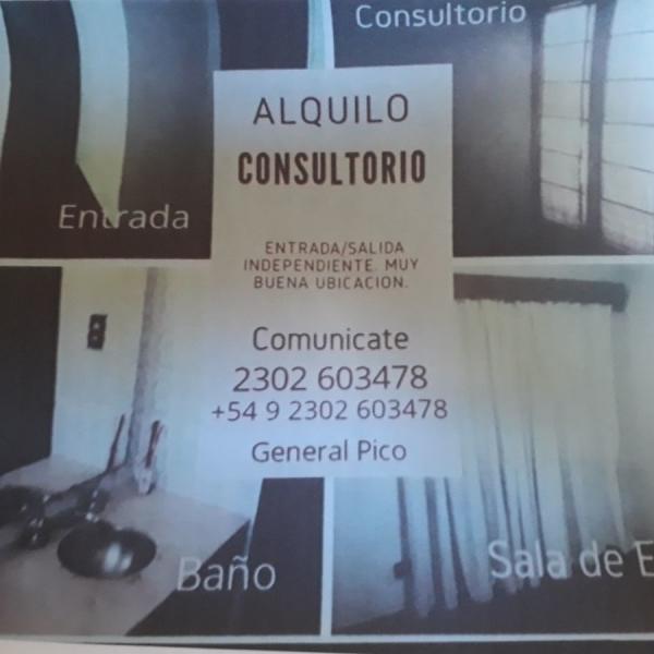 Alquilo consultorio