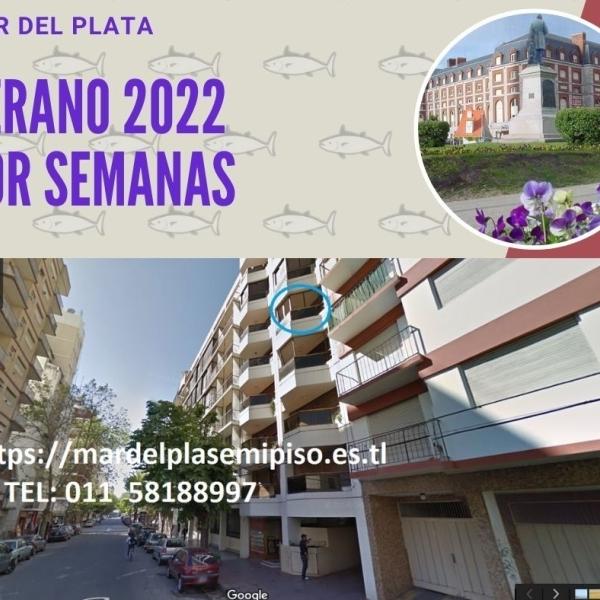 MDPLATA ALQUILO 2021-2022 X SEMANAS Y + 2A COCH WIFI PZA COLON