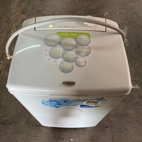 Vendo lavarropa Drean semiautomatico sin timer