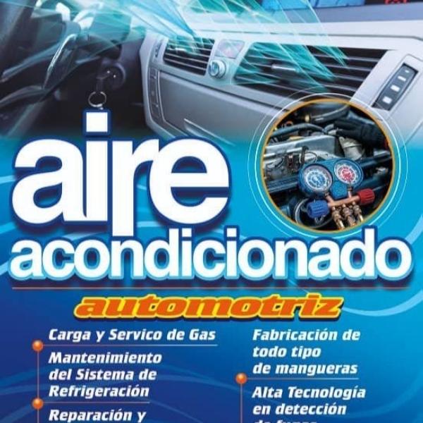 Carga de gas aire acondicionado en vehículos