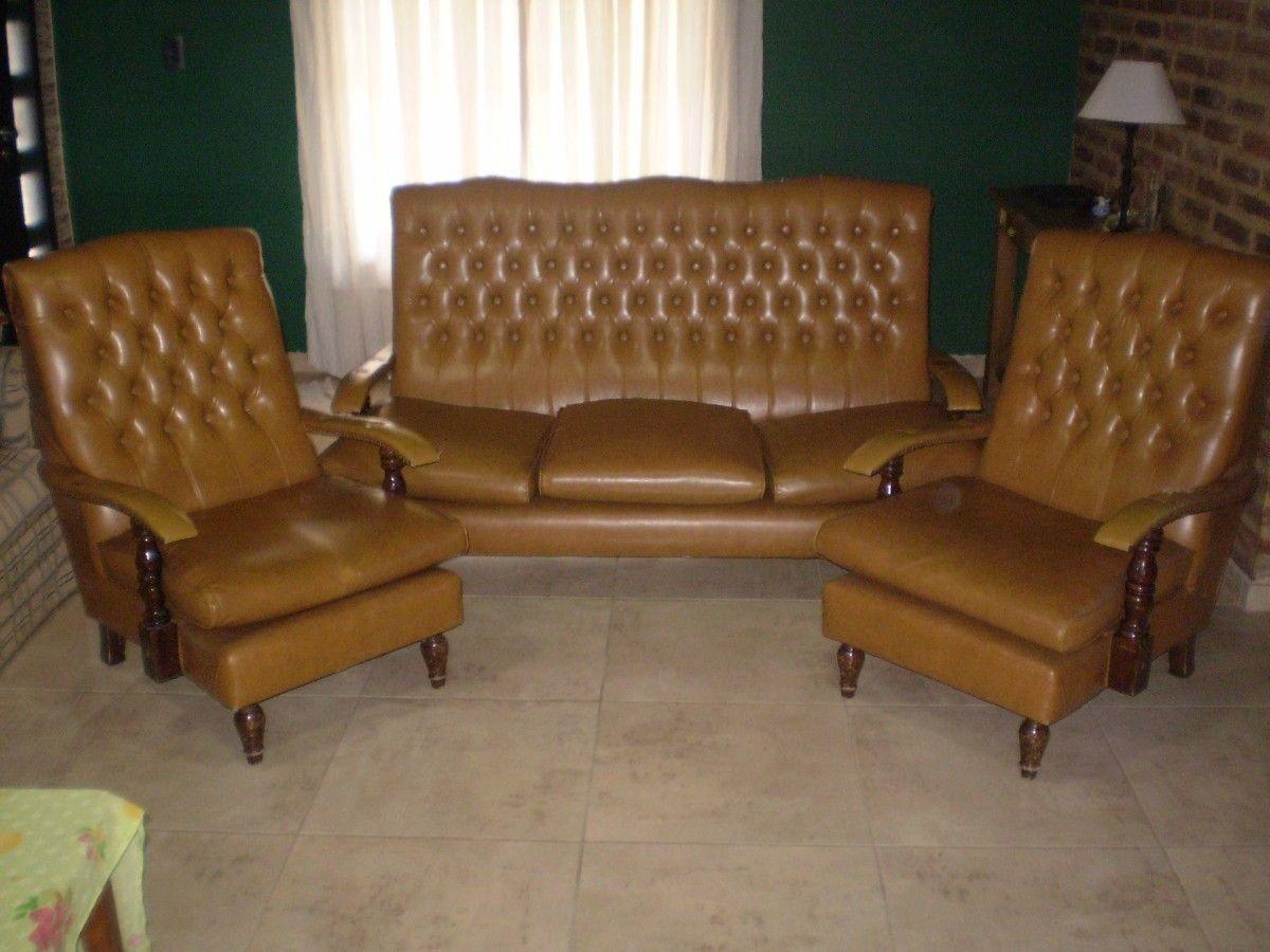 Vendo juego de sillon antiguo hogar muebles y jard n for Vendo sillon cama