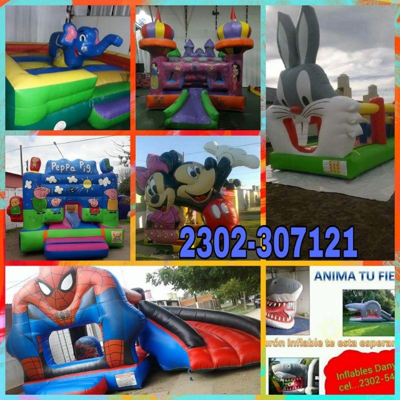 Alquiler De Inflables Y Juegos Dany Cel 2302 307121 Servicios