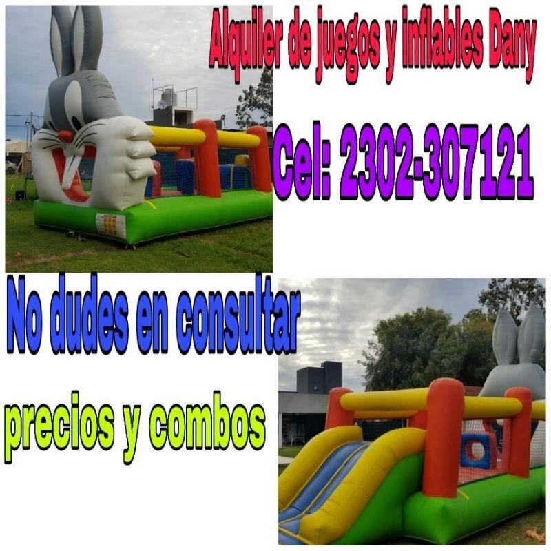 Alquiler De Juegos Y Inflables Dany Cel 2302 307121 O Via