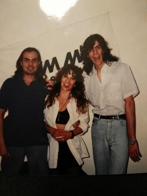 Virginia Cicacci, Miguel Rossotto y Néstor Bessone