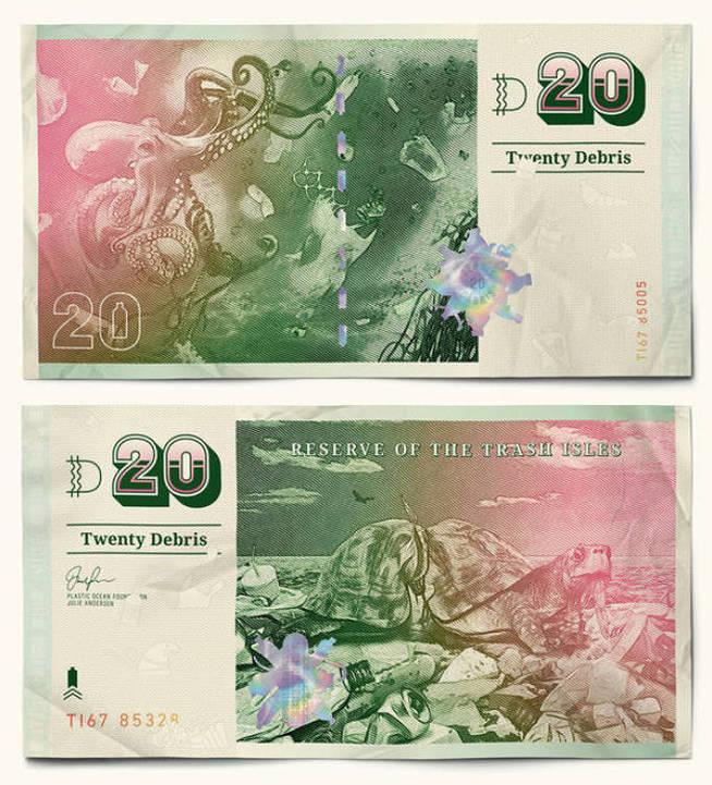 Moneda de la Isla Basura