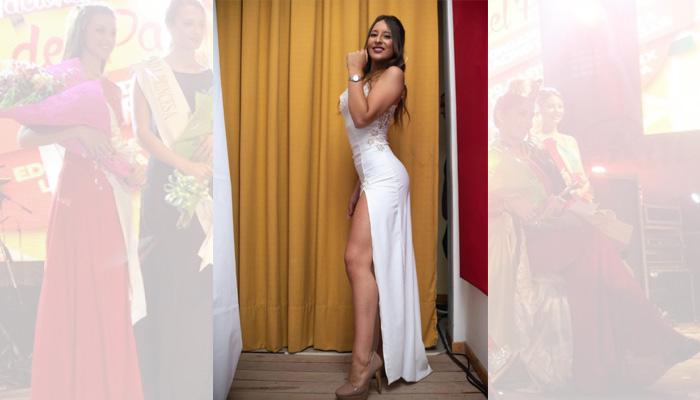 Agostina Cahais (18 años) representa a la municipalidad de Arata