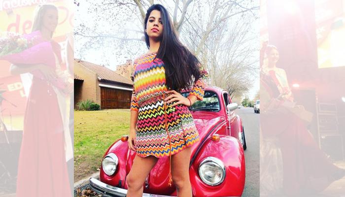 Agustina Saran (21 años) representa a Promopam agencia de promotoras y modelos de General Pico