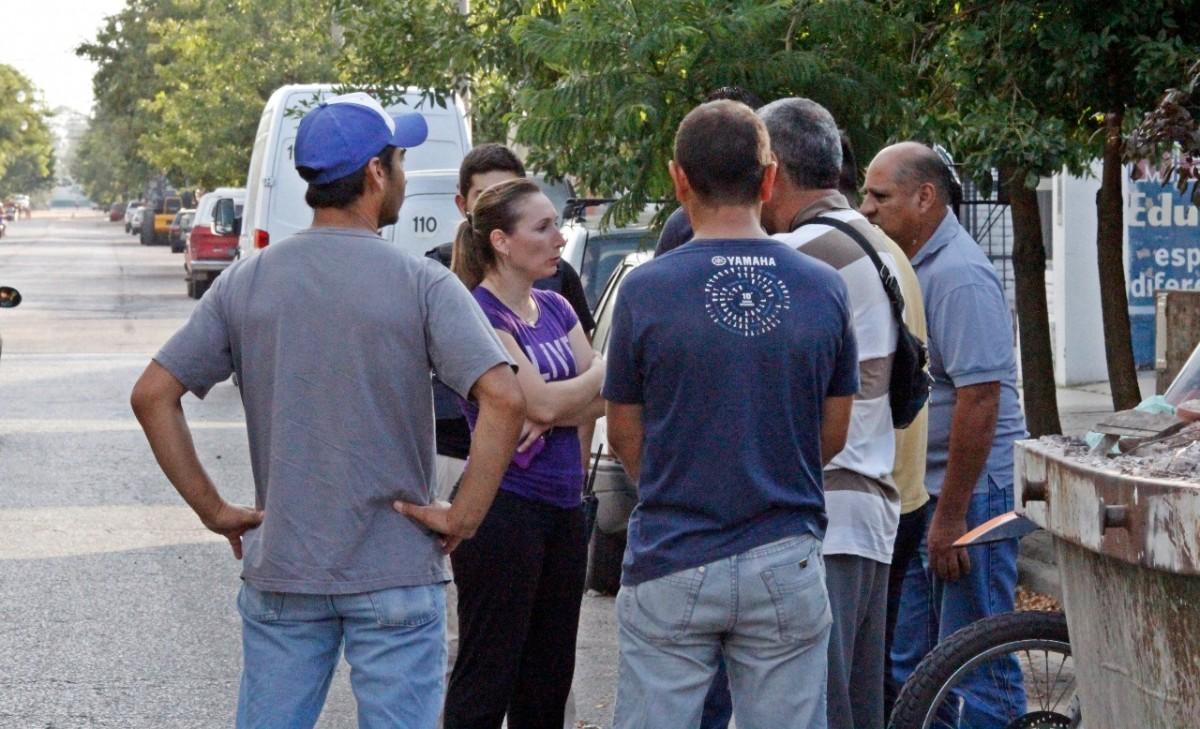 La comisario Vanina Fileni, Brigada de Investigaciones URII