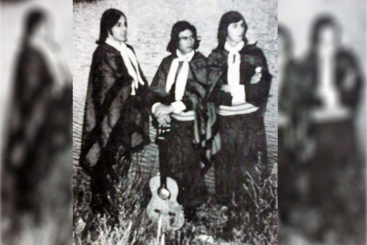"""Edgardo Hernandez, Nestor Iglesias y Carlos Albín los fundadores de """"Las voces del Chañar"""""""
