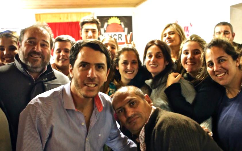 De la actividad formó parte el diputado nacional Martín Maquieyra y un grupo de sus colaboradores