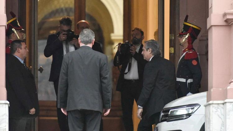 Comenzó la transición: Mauricio Macri se reúne con Alberto Fernández
