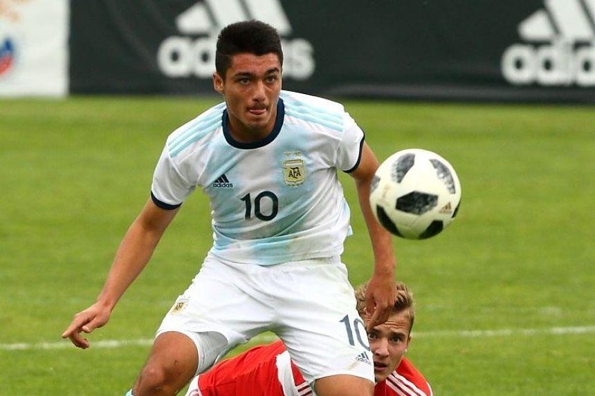 El piquense, Matías Palacios, uno de los 3 futbolistas juveniles argentinos elegidos entre los mejores talentos del mundo