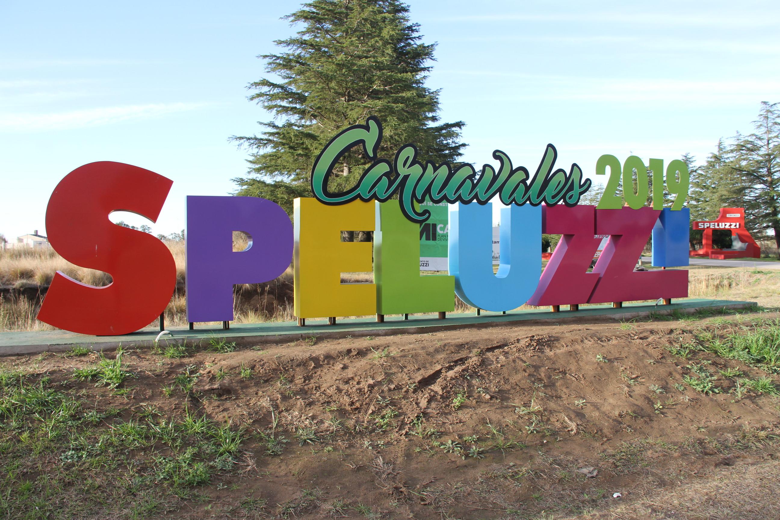 """Todo listo para vivir la gran fiesta del año en Speluzzi, la """"Capital del Carnaval"""""""