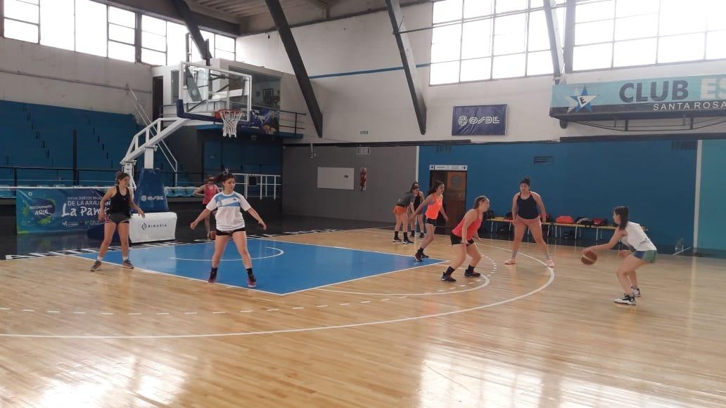 Confirmaron el equipo femenino de básquet para los Juegos de la Araucanía