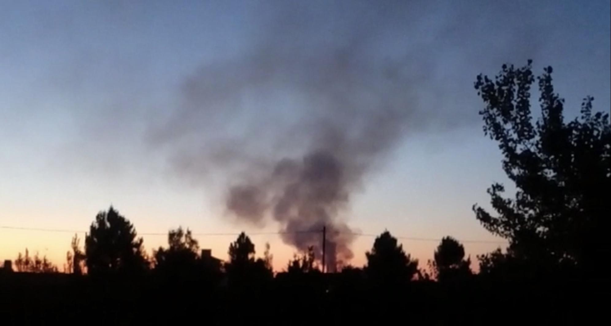 Quejas de vecinos por quemas en relleno sanitario
