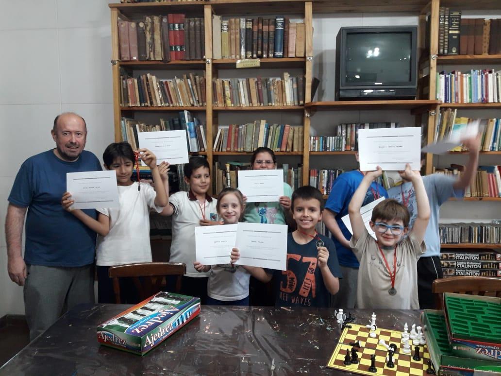 Culminó el Taller de Ajedrez 2019 en la biblioteca de Intendente Alvear