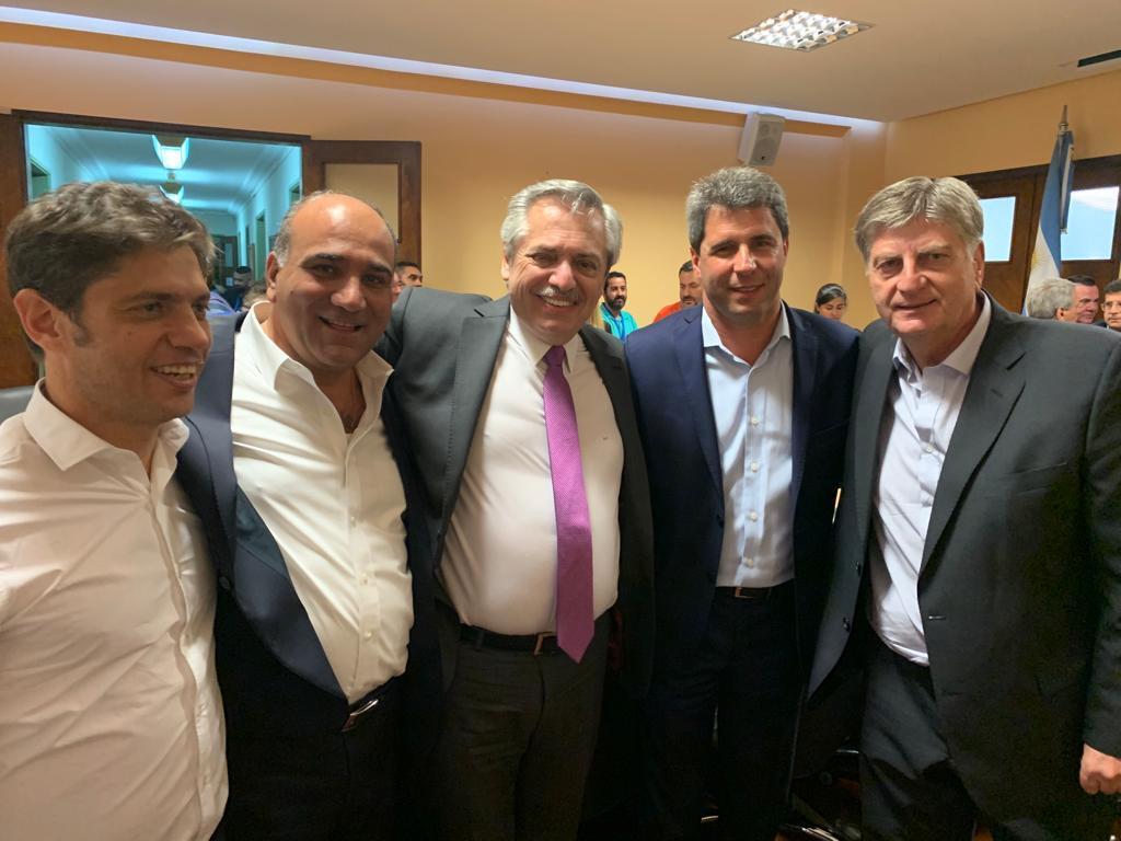 Cumbre de la CGT con Alberto Fernández: Reconocieron a Sergio Ziliotto por su defensa de los trabajadores y por contribuir a la unidad del peronismo nacional