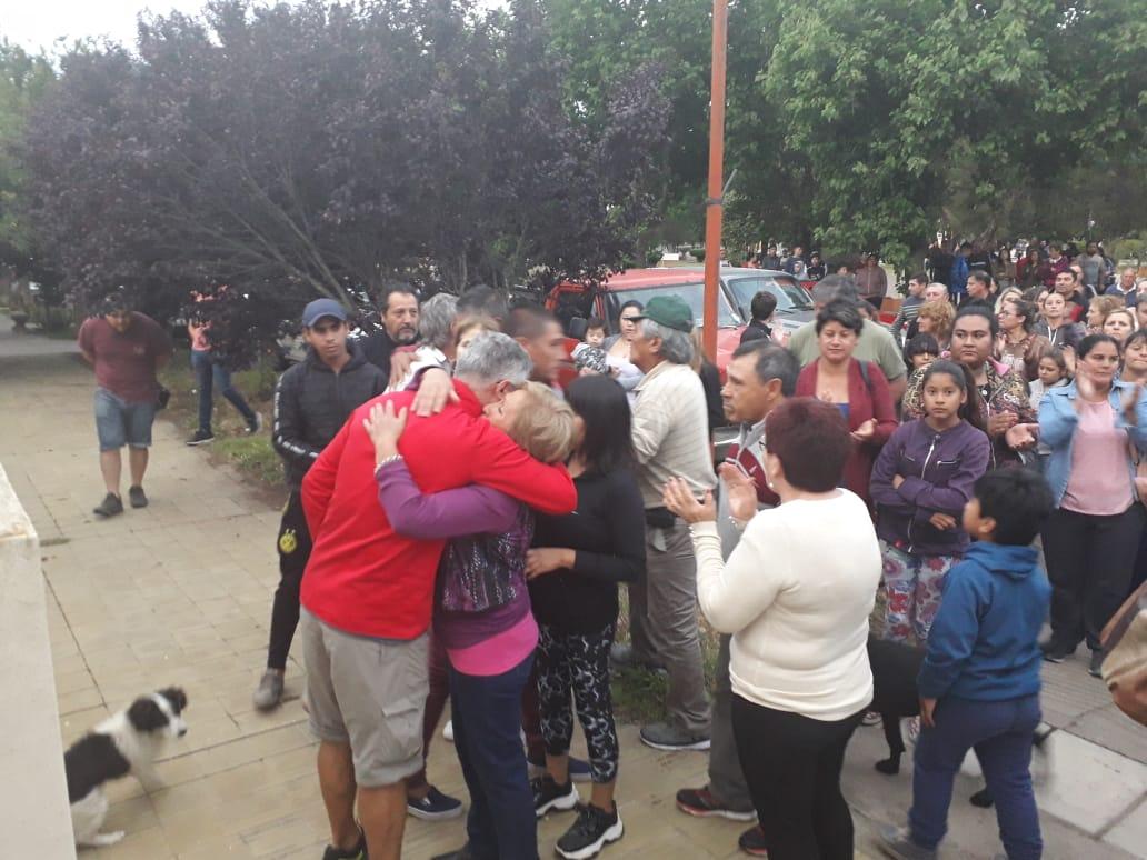 Vecinos de Rancul se movilizan en pedido de Justicia por las muertes de Héctor Ceferino Lapettina y Jacinto Atilio Tallone