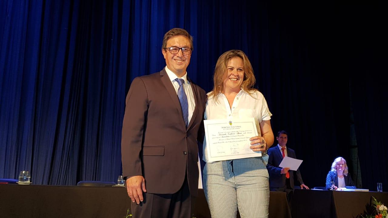 Galería de fotos: El Tribunal Electoral de La Pampa entregó diplomas a las autoridades electas en el Cine Teatro Pico