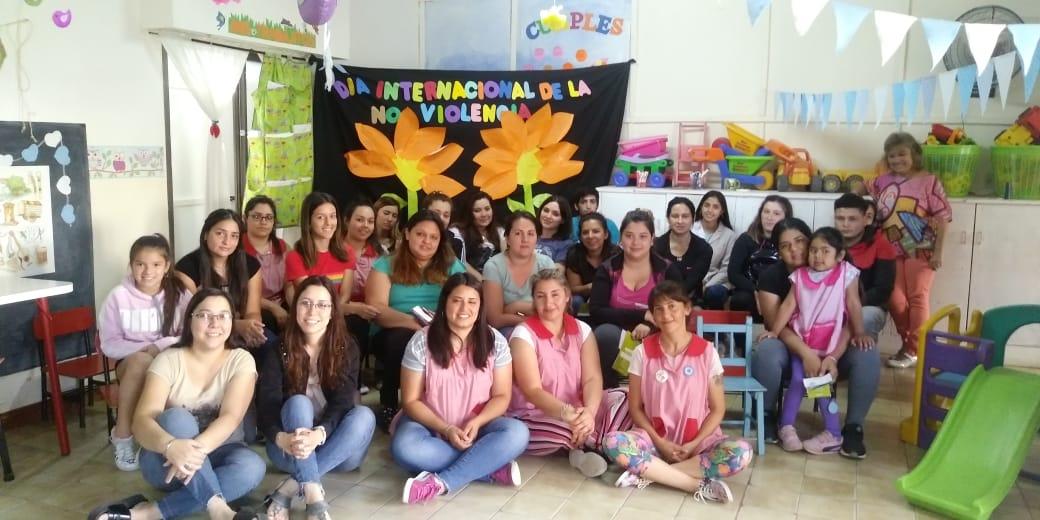 Los Centros de Desarrollo Infantil también conmemoraron el Día Internacional de la No Violencia contra la Mujer