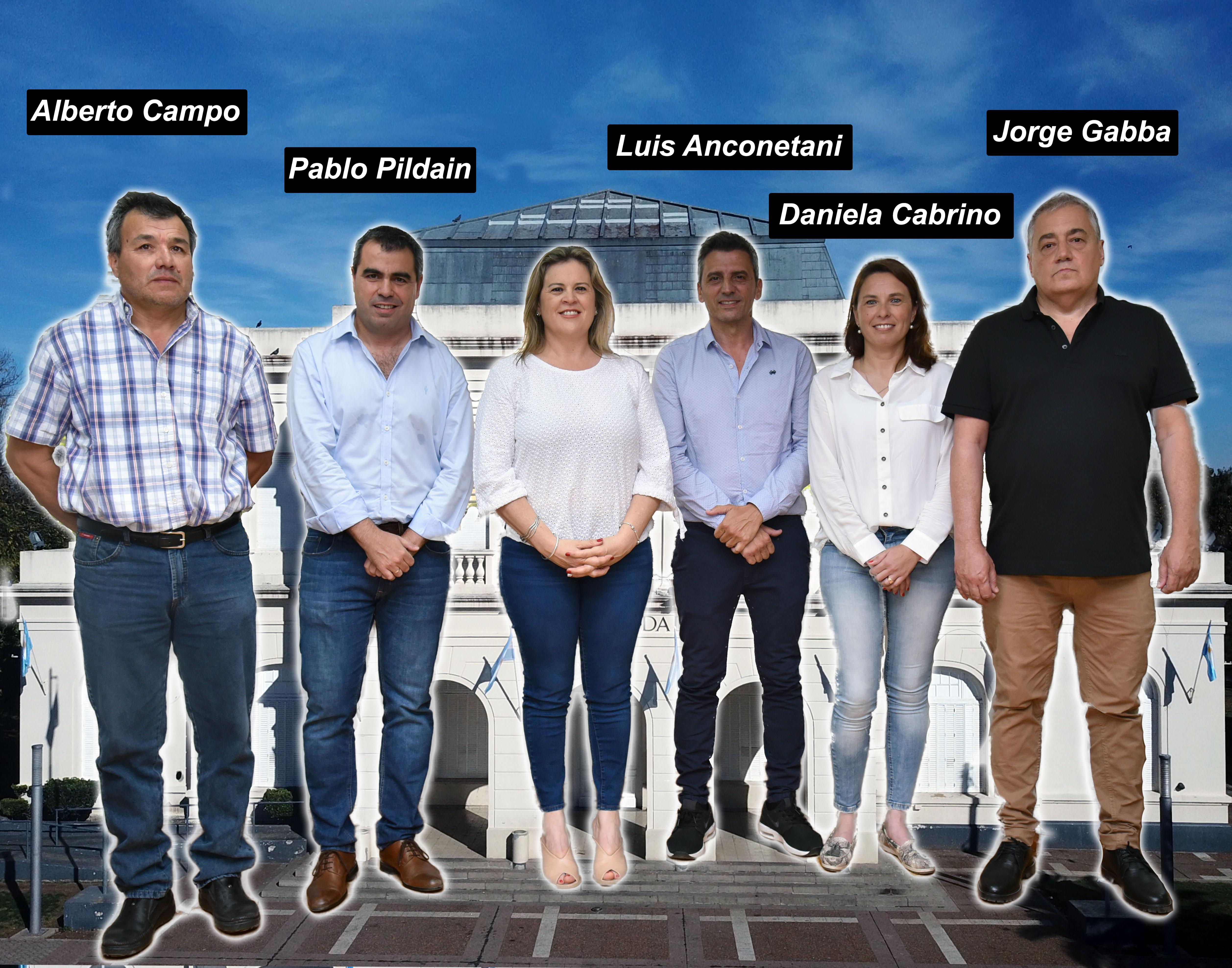 Estos son los cinco nuevos secretarios que asumirán el próximo 10 de diciembre en el gabinete municipal de General Pico