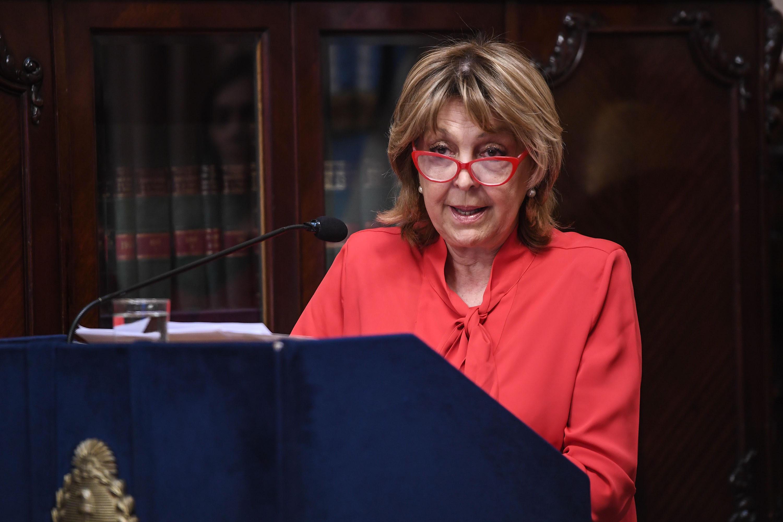 """La senadora nacional, Norma Durango, denunció y repudió amenazas: """"Esto es grave, no lo vamos a permitir"""", afirmó"""