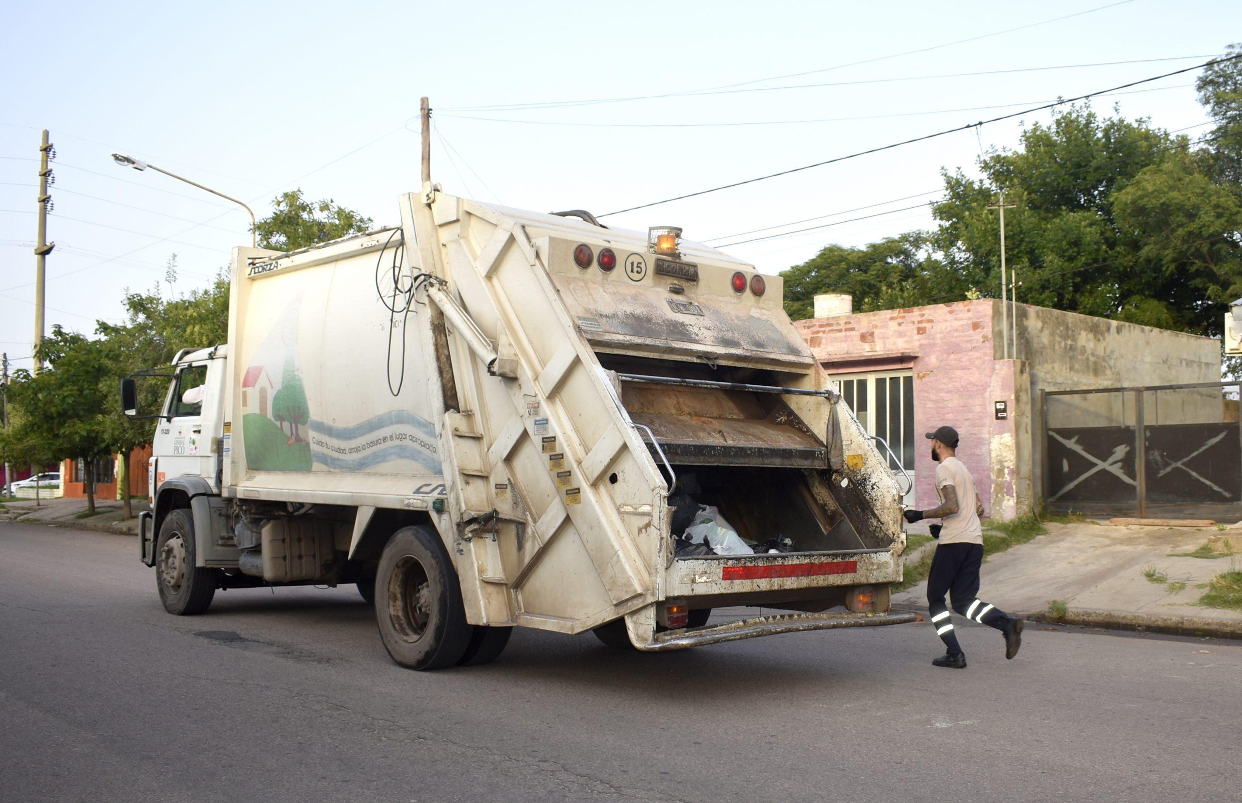 El próximo martes retornará la recolección diferenciada de residuos en General Pico