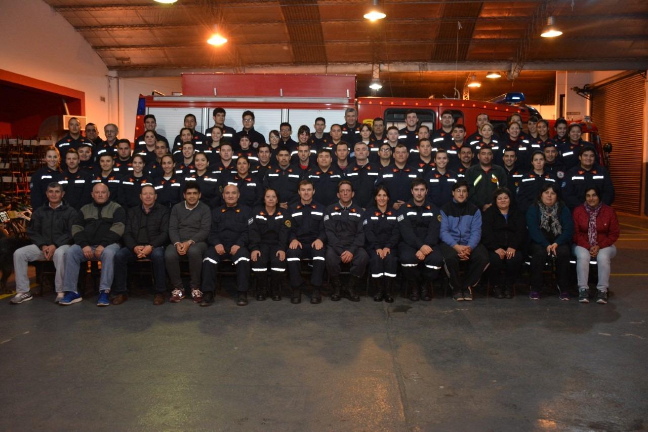 El particular agradecimiento de Bomberos Voluntarios a la comunidad e instituciones intermedias de General Pico