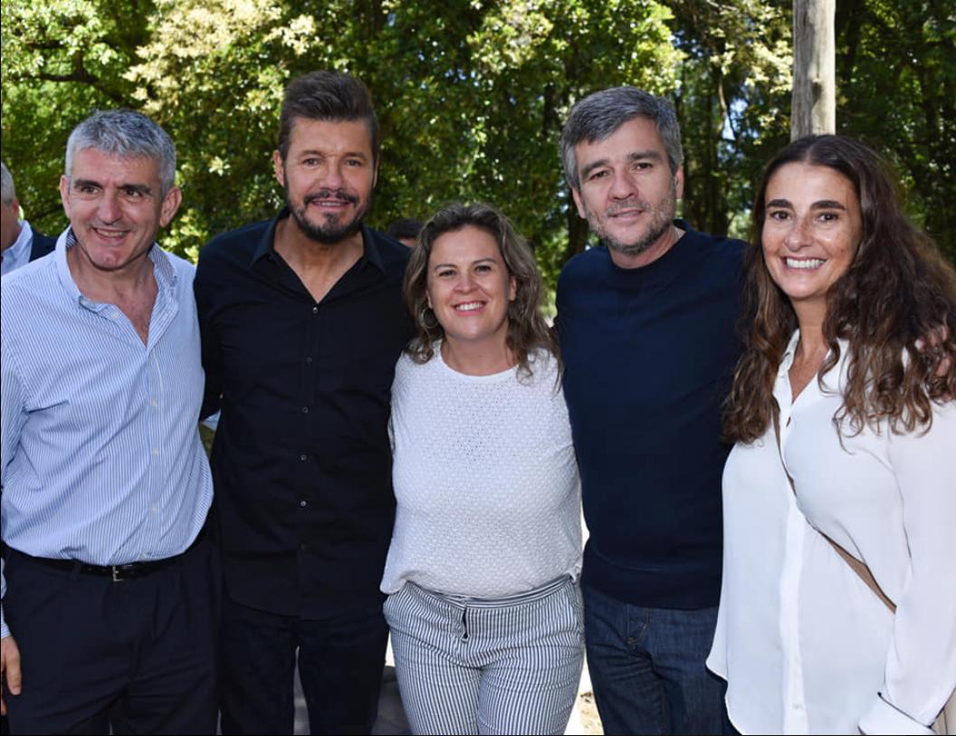 Fernanda Alonso se reunió con Marcelo Tinelli y distintos intendentes electos
