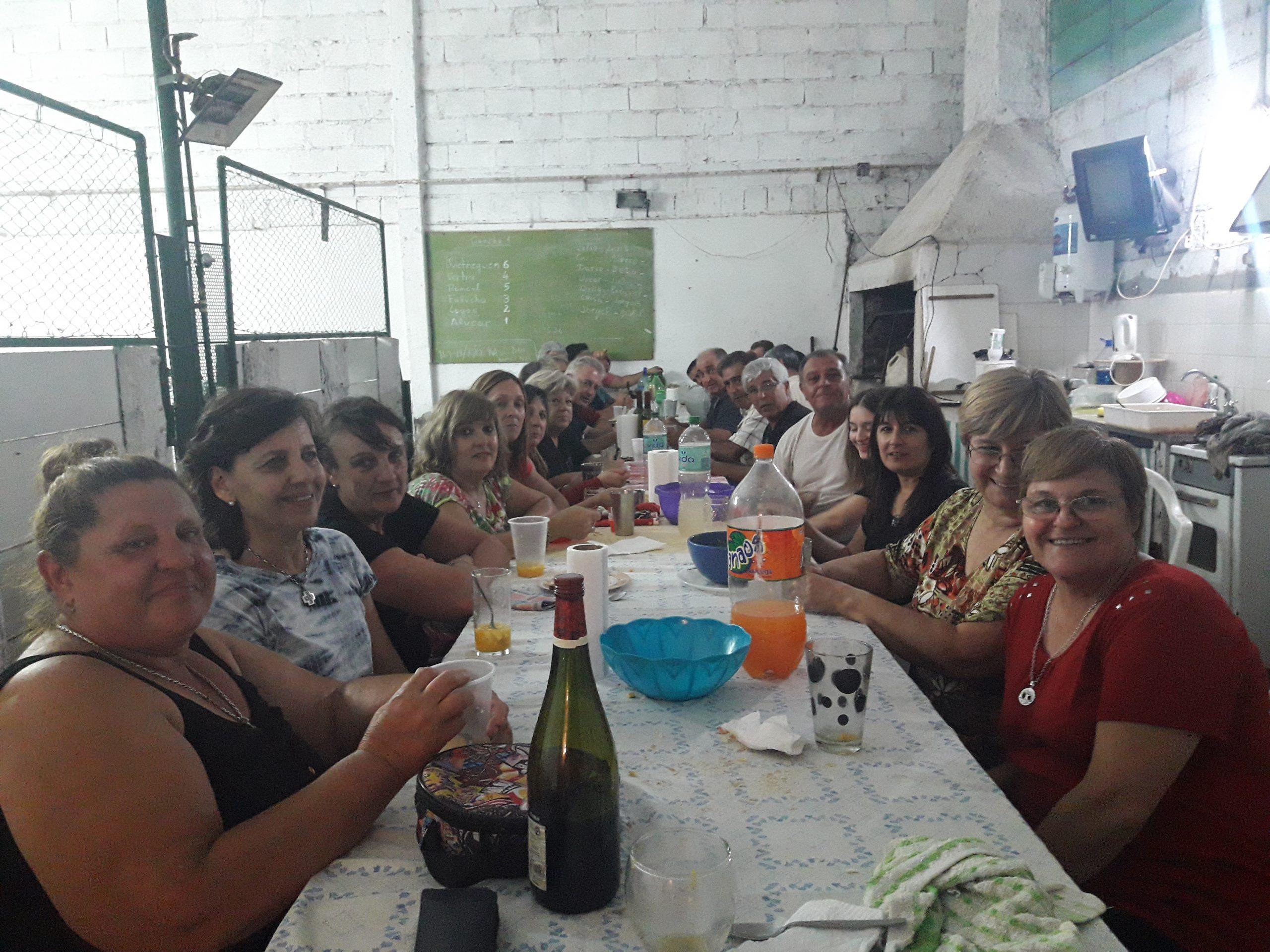 El Club de Bochas de Hilario Lagos realizó su fiesta de fin de año