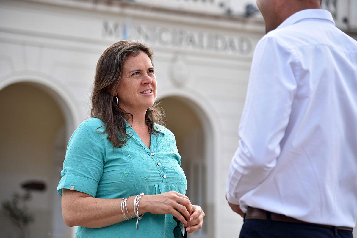 "Tarjeta alimentaria: ""Son 1807 para General Pico"", confirmó la intendenta Fernanda Alonso"