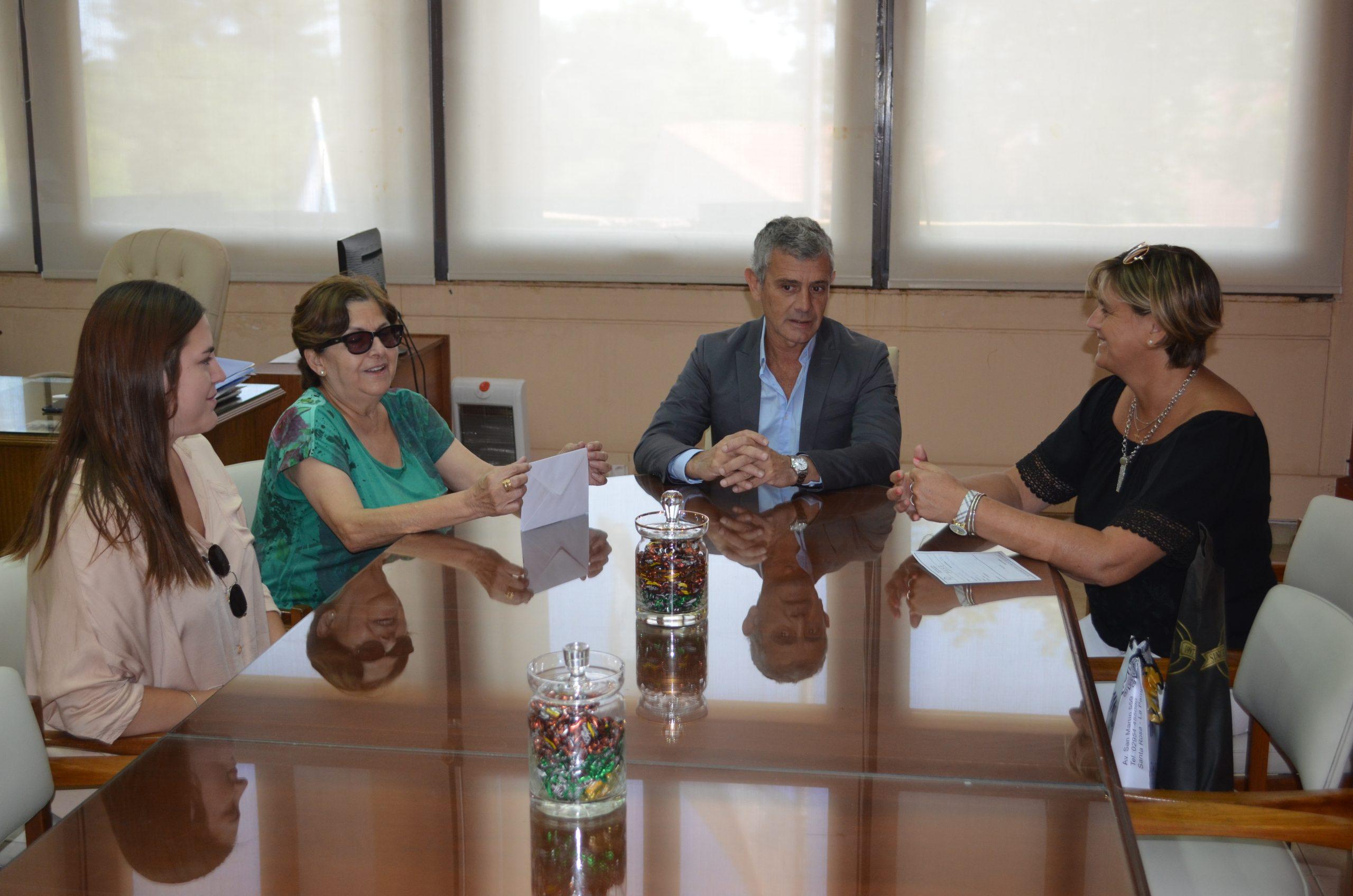 Autoridades de LALCEC se reunieron con el vicegobernador Fernández
